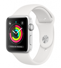 Apple Watch Series 3 42mm Zilver