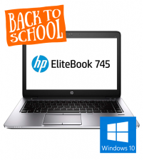 "HP Elitebook 745 G2 | 14"" - AMD A8 Pro - 8GB RAM - 128GB SSD"