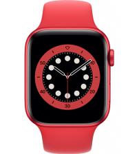 Apple Watch Series 6 44mm - RED Aluminium RED Sportband (NIEUW)