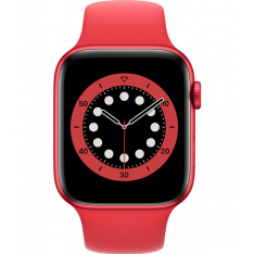 Apple Watch Series 6 44mm - RED Aluminium RED Sportband