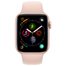 Apple Watch Series 4 44mm Goud / Roze Sportband (GPS)