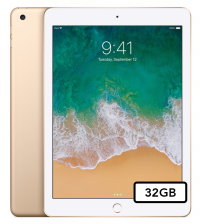 Apple iPad 2017 - 32GB Wifi - Goud