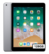 Apple iPad 2018 - 128GB Wifi + 4G - Space Gray (NIEUW)