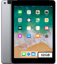 "Apple iPad 2018 9.7"" (6e generatie) - 32GB Wifi + 4G - Space Gray"