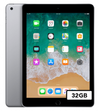 Apple iPad 2018 - 32GB Wifi - Space Gray (NIEUW)