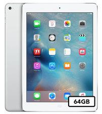Apple iPad Air - 64GB Wifi - Zilver wit