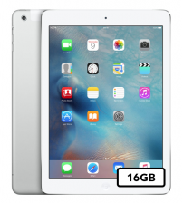 Apple iPad Air - 16GB Wifi + 4G - Zilver wit