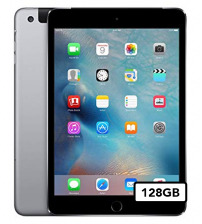 Apple iPad Mini 4 - 128GB Wifi + 4G - Space Gray