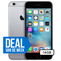 Apple iPhone 6 - 16GB - Space Gray - WEEKDEAL