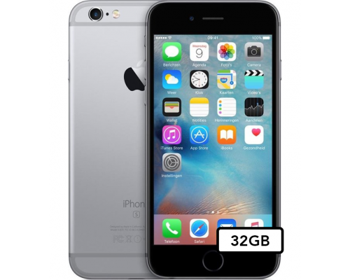 Apple iPhone 6s - 32GB - Space Gray (Excl. TouchID)