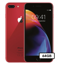 Apple iPhone 8 Plus - 64GB - RED Edition