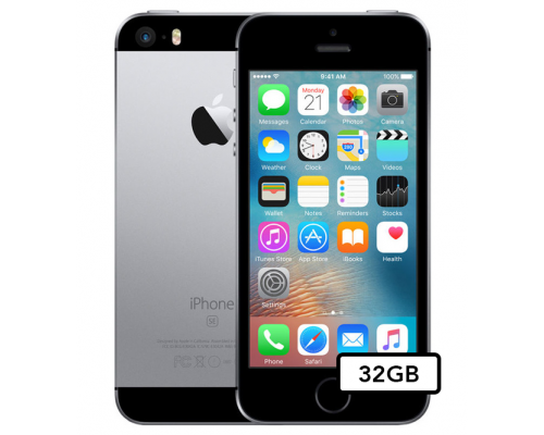 Apple iPhone SE - 32GB - Space Gray