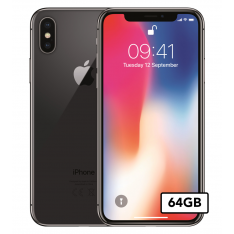 Apple iPhone X - 64GB - Space Gray