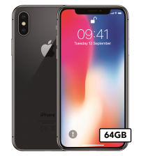 Apple iPhone Xs - 64GB - Space Gray