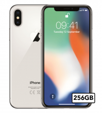 Apple iPhone X - 256GB - Zilver