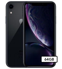 Apple iPhone Xr - 64GB - Apple garantie t/m 03-12-2020 - Zwart