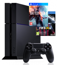 Sony PlayStation 4 500GB - Battlefield 1 & Fifa 14 bundel