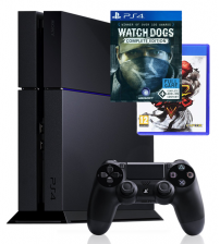 Sony PlayStation 4 500GB - Street Fighter V & Watch Dogs bundel