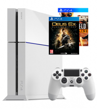 Sony PlayStation 4 500GB - Battlefield Hardline & Deus Ex bundel