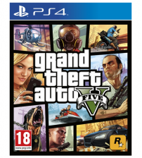 Grand Theft Auto V (enkel de CD) (PS4)