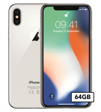 Apple iPhone Xs - 64GB - Zilver-wit