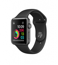 Apple Watch Sport 42mm - Space Gray (Stoffen horlogeband)