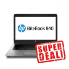 "HP Elitebook 840 G1 - 14"" / Core i5 / 4GB / 128GB SSD"
