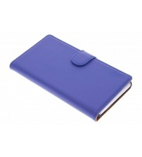 Sony Xperia Z - Wallet Booktype hoes - Blauw