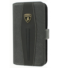 Apple iPhone 4 / 4S - Lamborghini Booktype Case