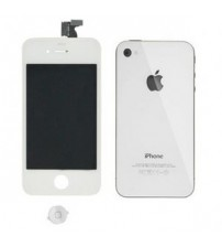 Apple iPhone 4 volledig LCD met achterkant en homebutton wit