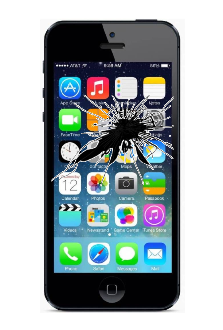 APPLE STORE REPARATIE SCHERM IPHONE 5
